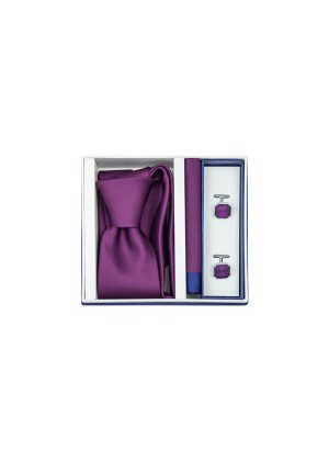 Набор подарочный фиолетовый