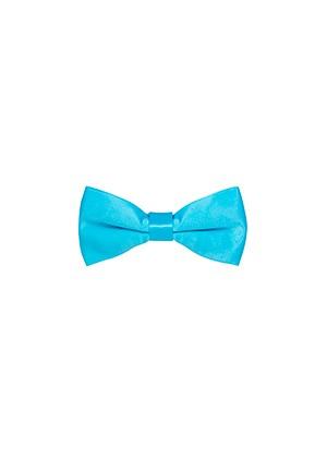 Бабочка голубая атласная