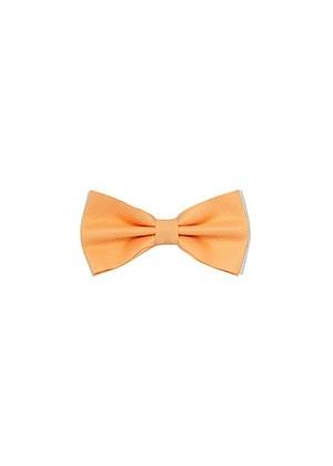 Бабочка комбинированная персиковая фактурная