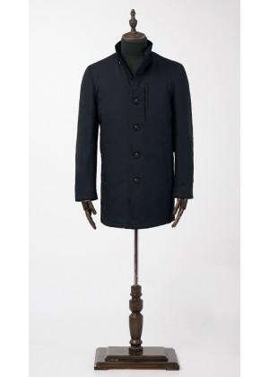 Куртка синяя утепленная