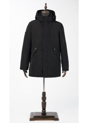 Куртка черная зимняя