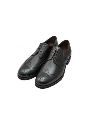 Туфли броги коричневые, подошва EVA