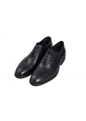 Туфли оксфорды черные с отделкой