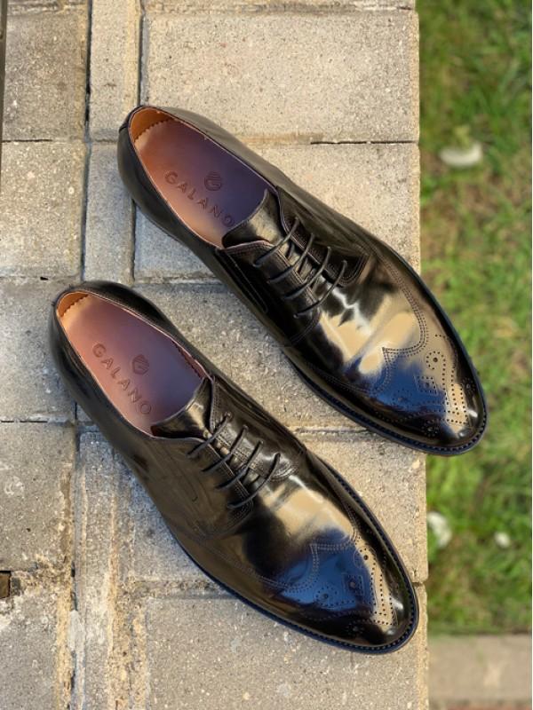 Туфли черные глянцевые ( есть в больших размерах)