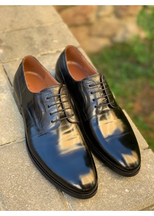 Туфли черные лакированные