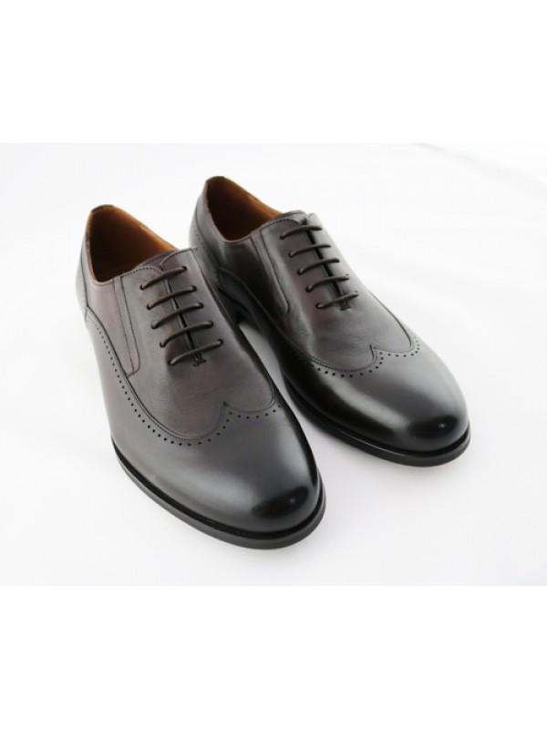 Туфли дерби коричневые