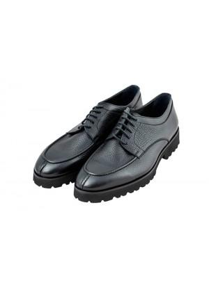 Туфли дерби черные, подошва EVA