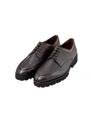 Туфли дерби коричневые, подошва EVA