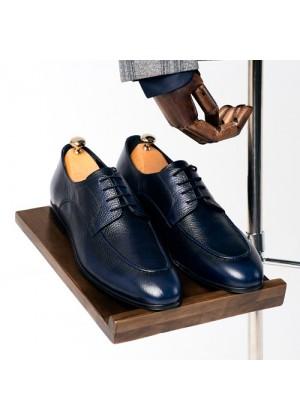 Туфли дерби синие
