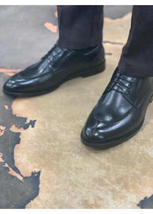 Туфли дерби черные