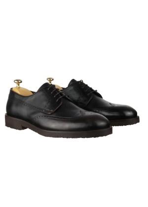Туфли коричневые броги