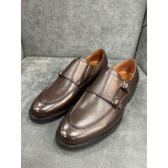 Туфли гонки коричневые