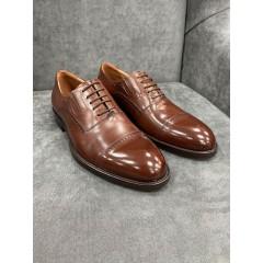 Туфли оксфорды рыжие
