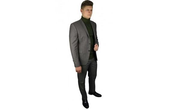 Пиджак шерстяной твид  бежевый