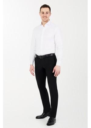 Рубашка белая с лайкрой